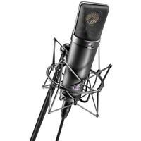 Shock Mount, Microphone Holder, Clip For Neumann U87 U87Ai U89i U47 TLM In Black