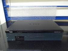 Cisco 2911/sec-K9  2911 Integrated Services Gigabit Router CCNA CCNP CCIE