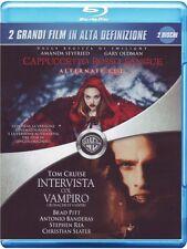 Blu Ray CAPPUCCETTO ROSSO SANGUE + INTERVISTA COL VAMPIRO (2 BLU-RAY) ....NUOVO
