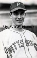 Vintage Photo 72 - Pittsburgh Pirates - Vince DiMaggio