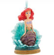 Disney Store Singing Ariel Sketchbook Ornament 2017 Little Mermaid