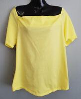 BNWT Womens Sz XL 16 MIX Brand Limelight Short Sleeve Cowl Neck Style Top