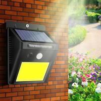 48-LED Solar Licht Dachrinnen Außenlampe WandLeuchte Wandlampe Bewegungsmelder