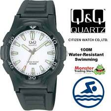AUSTRALIAN SELER GENTS DIVERS WATCH CITIZEN MADE VP84J004 100M WATER RESISTANT