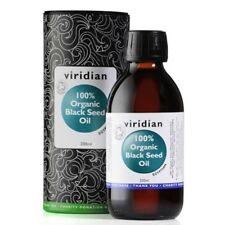 Viridian 100% Organic Black Seed Oil 200ml