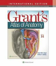 Grant's Atlas of Anatomy International Edition 14 (2017, Paperback, Revised) New