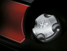 Alfa Romeo Mito Giulietta Aluminium Oil Cap PETROL ENGINE New Genuine 50546969