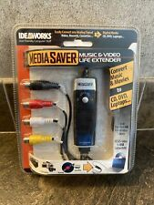 New in Sealed Package Idea Works Media Saver Converter for Music, Videos, etc.