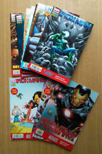 IRON MAN MARVEL NOW SEQUENZA COMPLETA 1-12 COVER A e B + VARIANT