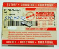 10 PIECES, MANCHESTER, 524-102-33 M45 CARBIDE INSERTS,   H466