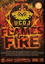 UCOJ FLAMES & FIRE – 2017 United Colours OF Jungle CD002 Drum & Bass CD Pack