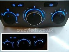 Astra H Heater panel switch in your choice of LED colour Blue Red White Green et