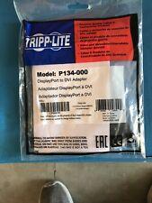 Tripp-Lite DisplayPort to DVI Adapter P134-000