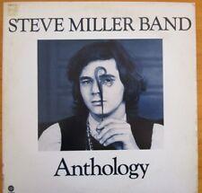 """Steve Miller Band """"Anthology"""" 1972 Capitol SVBB-11114, 2 LP Gatefold & Booklet"""