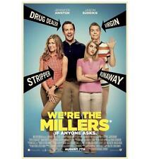WE'RE THE MILLERS ORIGINAL 27x40 MOVIE POSTER (2013) SUEIKIS & ANISTON