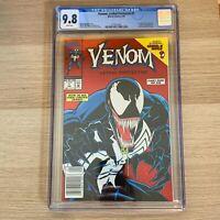Venom Lethal Protector 1 CGC 9.8 Newsstand Variant High Grade NM+/Mint Foil