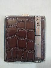 Cigarette Case with inbuilt Flame Lighter (JUNLONG)