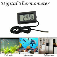 Digitale LCD Acquario Frigo Misura Temperatura Ambiente Congelatore Termometro