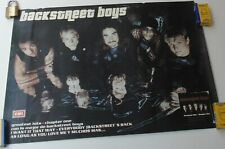 BACKSTREET BOYS GREATEST HITS CHAPTER ONE POSTER EMI MUSIC COLOMBIA 2001