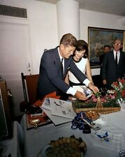 President and Mrs. John F. Kennedy at JFK Birthday Party 1963 New 8x10 Photo