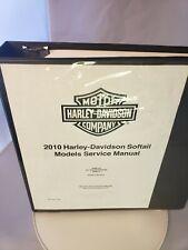 2010 Harley-Davidson Softail Models Service Manual