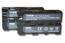 2x Akku 1800mAh für SONY DCR-VX1000 / DCR-VX2000