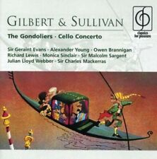 Gilbert & Sullivan: The Gondoliers - Cello Concerto - 2xCD - Very Good Condition