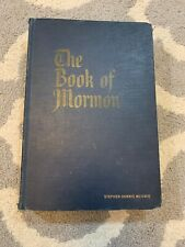 VINTAGE The Book Of Mormon LDS 1962 Large Print Great Condition! A5