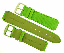 Authentic Technomarine Genuine Lizard Leather  Band Strap 17mm 1036 GREEN NEW