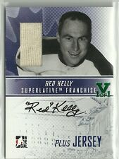ITG Superlative Vault Red Kelly Auto Autograph Jersey Card 1 of 1 Toronto Leafs