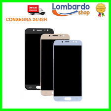 DISPLAY LCD TOUCH SCREEN PER SAMSUNG GALAXY J7 2017 J730 SMJ730F NERO ORO BLU