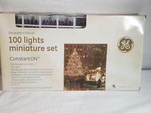 GE classic Decorators Chooce 100 Light String A Long Purple Christmas Lights