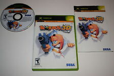 Worms 3D Microsoft Xbox Video Game Complete