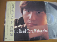 Toru Watanabe Dramatic Road Epic 28-3H-108 LP Japan OBI INSERT
