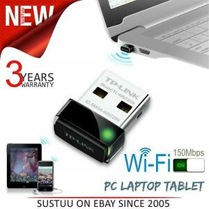 TP-Link Turn your non WiFi PC Laptop Tablet in to WiFi receiver TL-WN725N 150Mbp