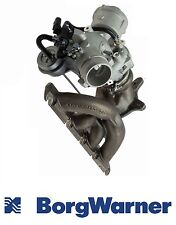 NEW Audi A4 A5 A6 Q5 2009-2014 Turbocharger with Exhaust Manifold BORG WARNER