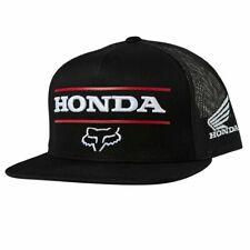 Fox Racing Men's MX Casuals Official Honda Snapback Hat/Cap - BLACK
