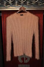 Gucci Angora Crew Neck Sweater - Light Pink M Medium