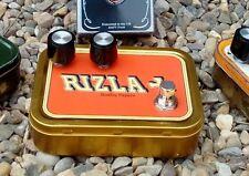 Germanium Fuzz Face Clone effet en Rizla Tabac Tin + Mojo pièces CBG & guitare