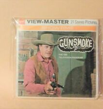 Gunsmoke GAF sealed viewmaster show viewmaster unopened vintage 1972 Cowboys