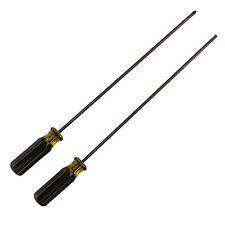 Magnetic 15.35 inch Screwdriver Cross & Flat Head Extra Long Screw Driver 2pcs