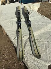 New listing Volkl Ax3 Gamma 156 Cm Downhill Skis Waxed & Tuned Marker M12 Bindings 108/70/96