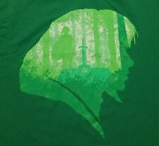 Hylian Hero Link Epona Teefury Men's Large Shirt