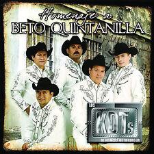 Los Kdts De Homero Guerrero Jr. : Homenaje a Beto Quintanilla CD