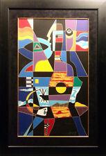 "Neal Doty ""A Man of Colors"" framed Hand Signed Serigraph Silkscreen Artwork L@@K"