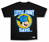 WWE Wrestling Little Jimmy R Truth Black T Shirt New Official Youth Kids