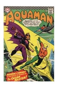 Aquaman #29 (Sep-Oct 1966, DC) Aquaman and Aqualad Superman DC National Comics
