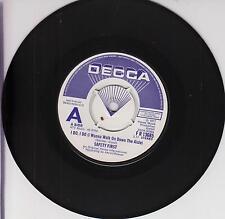 """SAFETY FIRST - I Do, I Do - Rare & Original Decca 2-track DEMO 7"""" vinyl single"""