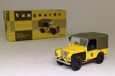 Land Rover Serie I 80 AA Road Service Vanguards Va11108 1/43 Bache Yellow GELB