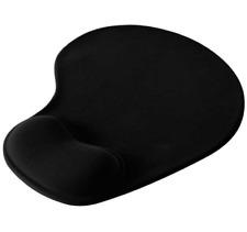 🔥 Tappetino Mouse con Cuscinetto Poggiapolso per PC - Nero - OFFERTA 🔥